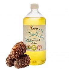 Body massage oil Verana «CEDAR»