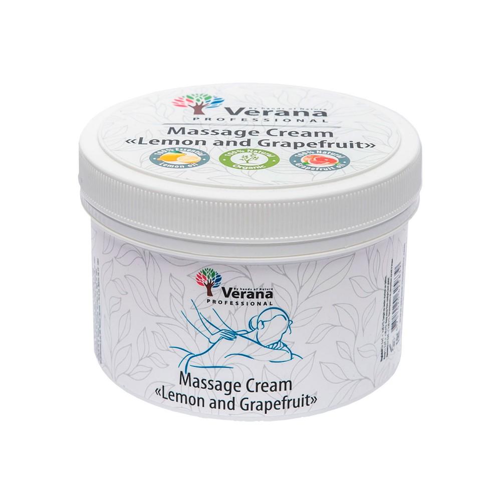 Massage cream Verana «LEMON AND GRAPEFRUIT»