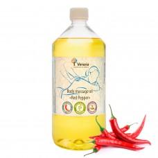 Body massage oil Verana «RED PEPPER»