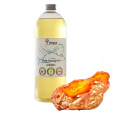 Body massage oil Verana «AMBER»