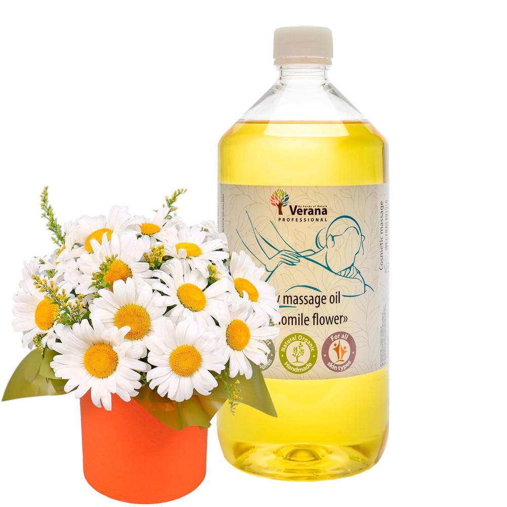 Body massage oil Verana «CHAMOMILE FLOWER»