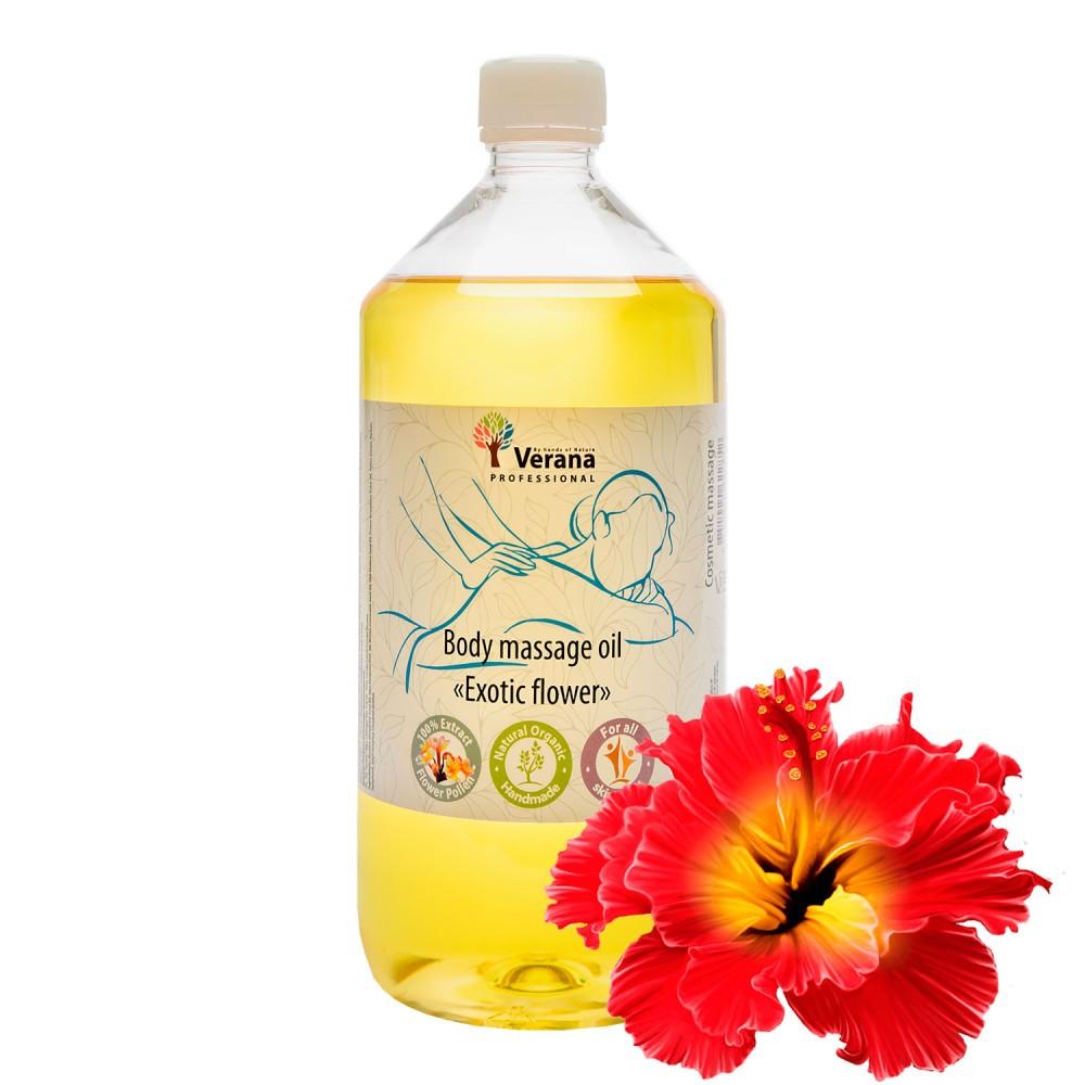 Body massage oil Verana «EXOTIC FLOWER»