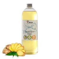 Массажное масло для тела Verana Professional «Имбирь», 1литр