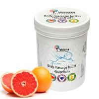 Твёрдое массажное масло для тела Verana Professional «Грейпфрут», 900гр.