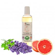 Face massage oil Verana «LAVENDER & GRAPEFRUIT»