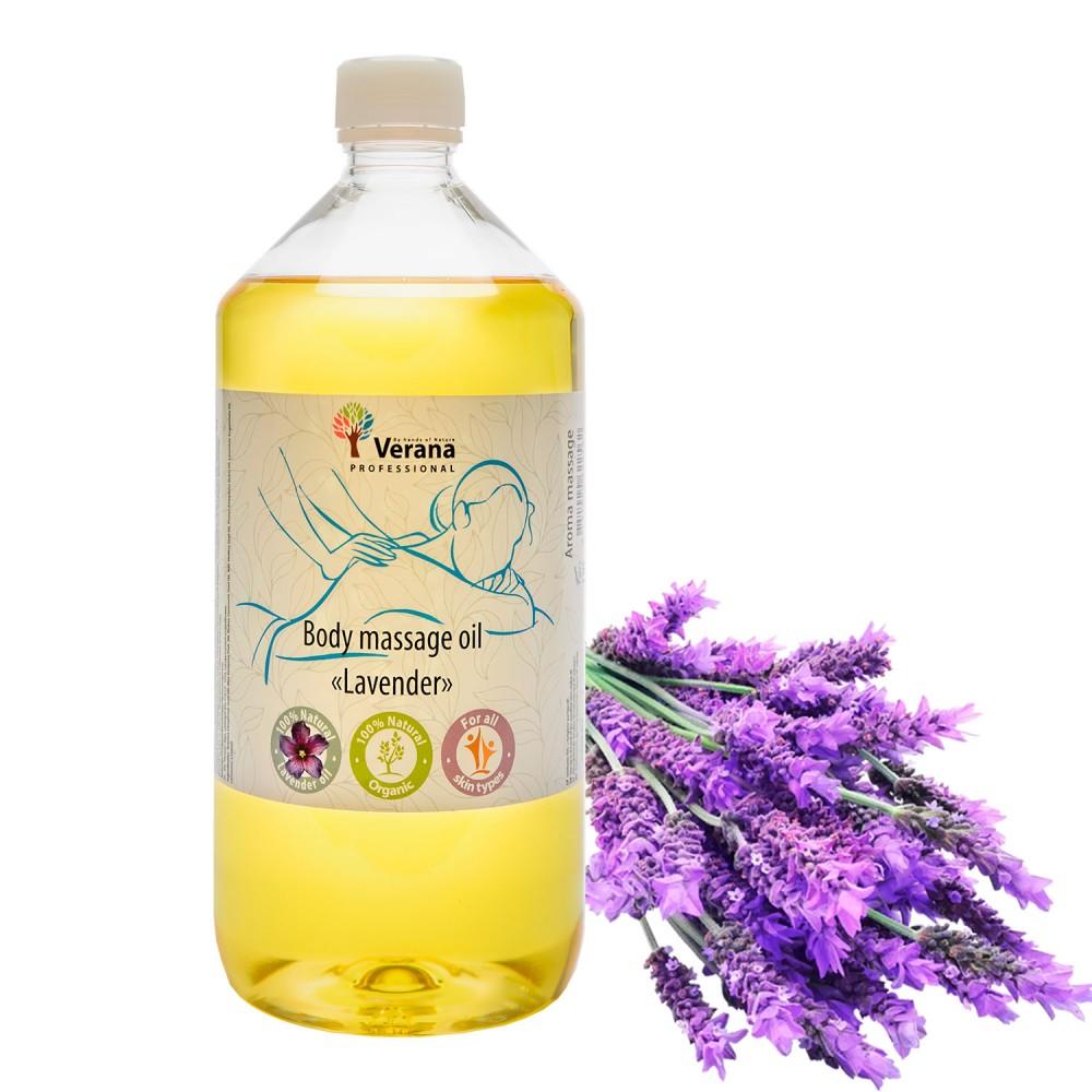 Body massage oil Verana «LAVENDER»