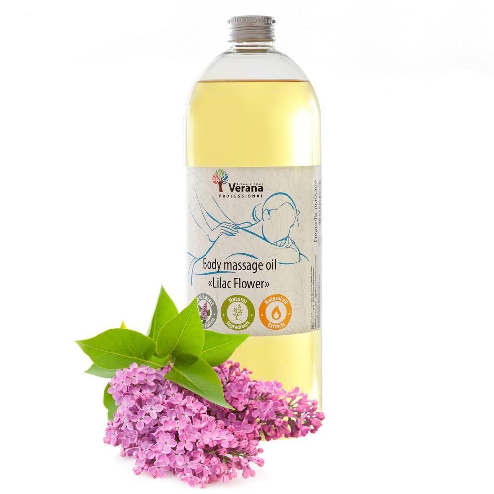 Body massage oil Verana «LILAC FLOWER»