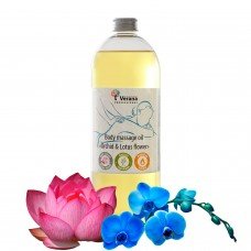 Body massage oil Verana «ORCGID & LOTUS FLOWER»