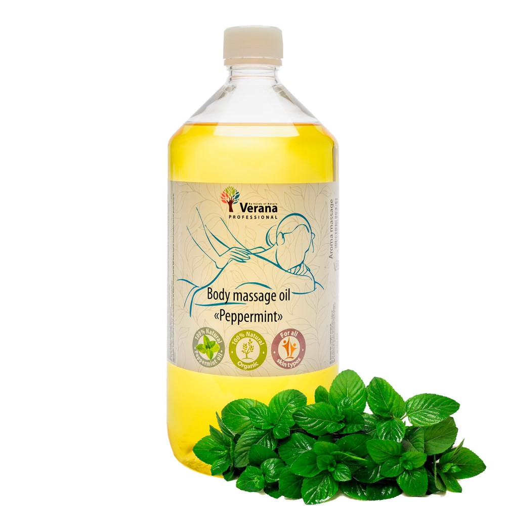 Body massage oil Verana «PEPPERMINT»