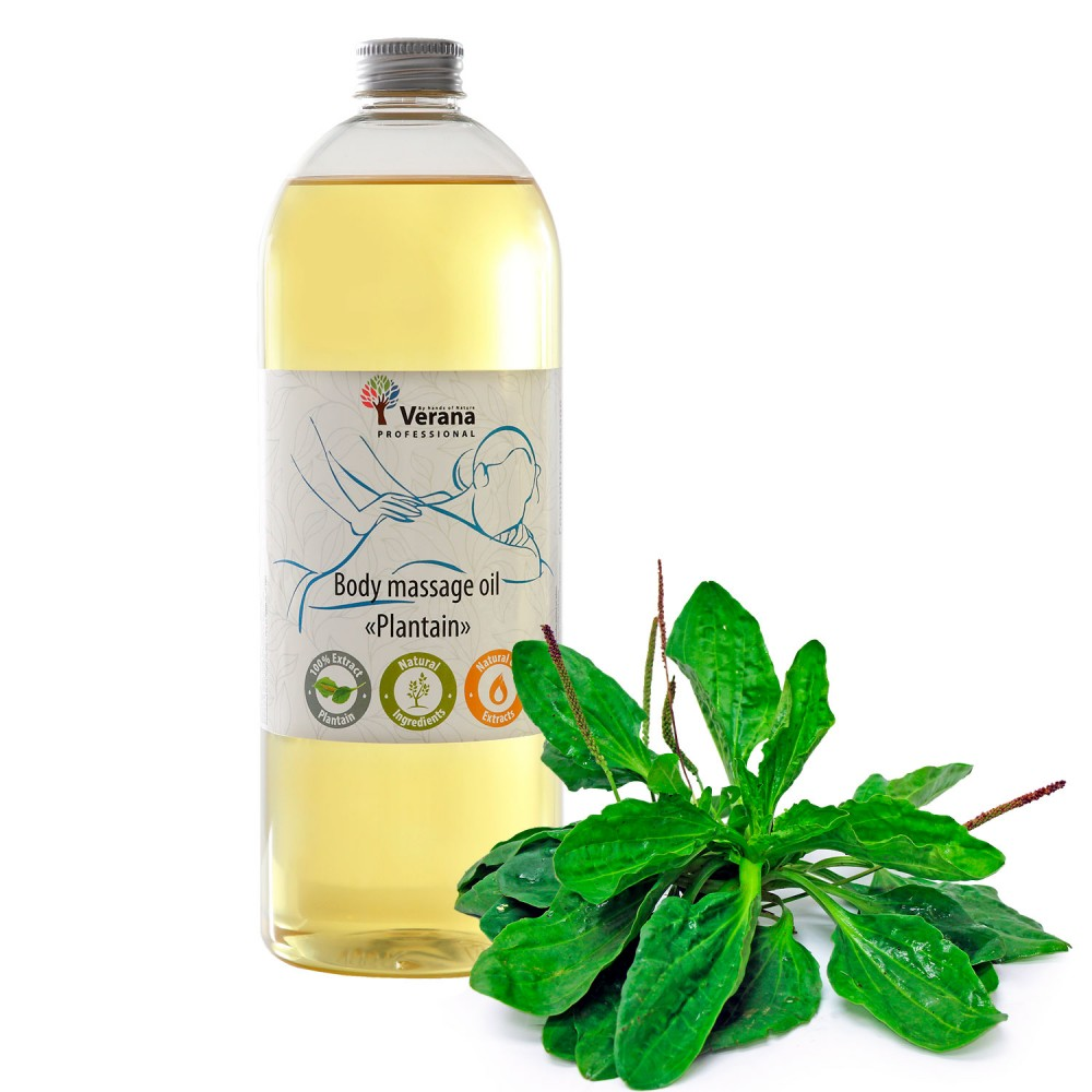 Body massage oil Verana «PLANTAIN»