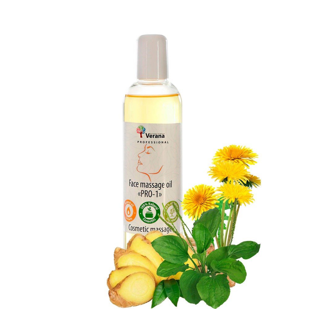 Face massage oil Verana «PRO-1»