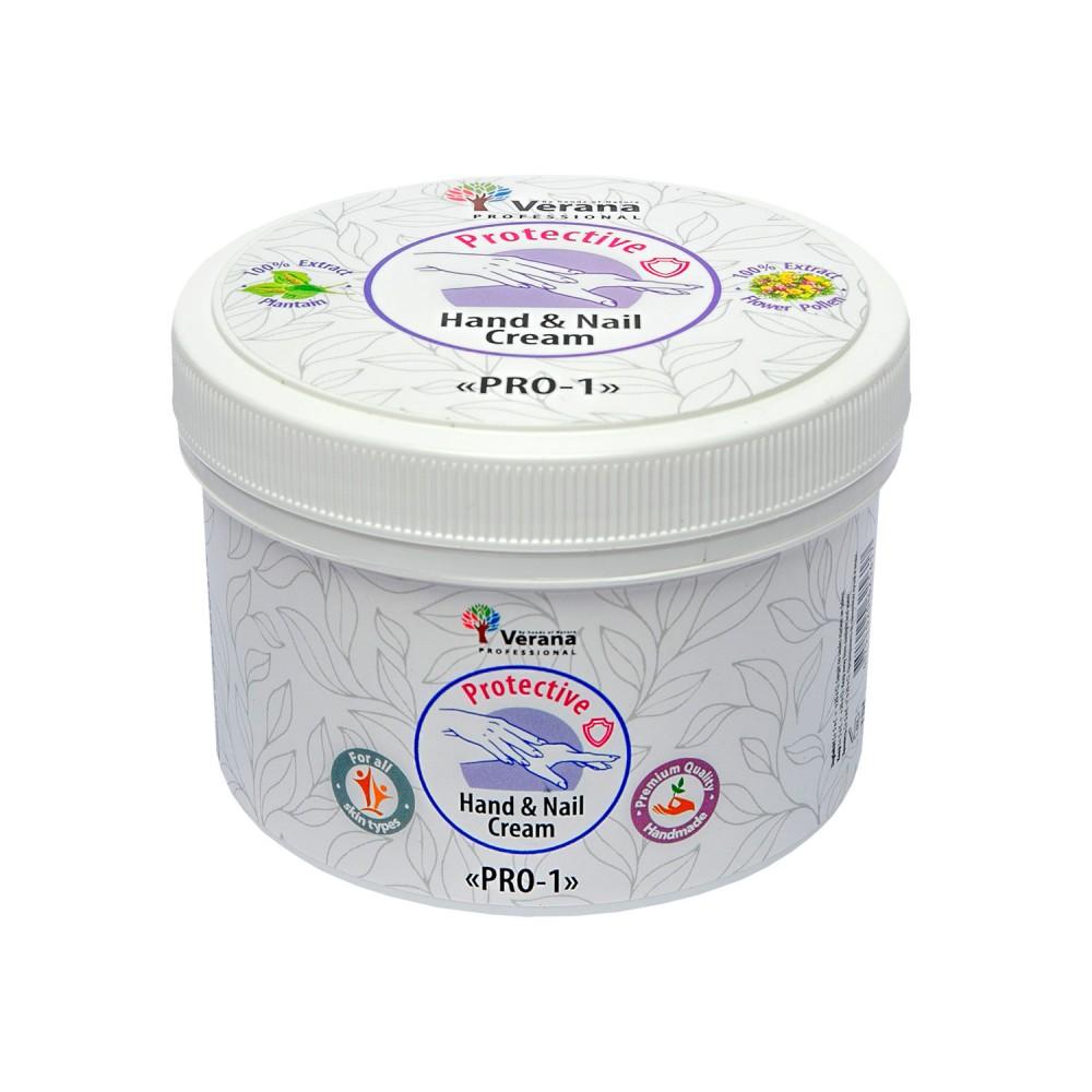 Protective hand and nail cream Verana «PRO-1»