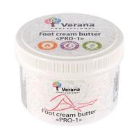 Крем-масло для ног Verana PRO-1, 450 гр, увлажняющий, восстанавливающий, питательный, омолаживающий