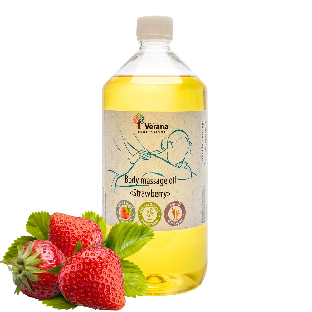 Body massage oil Verana «STRAWBERRY»