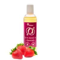 Эротическое массажное масло Verana «Клубника», 250мл