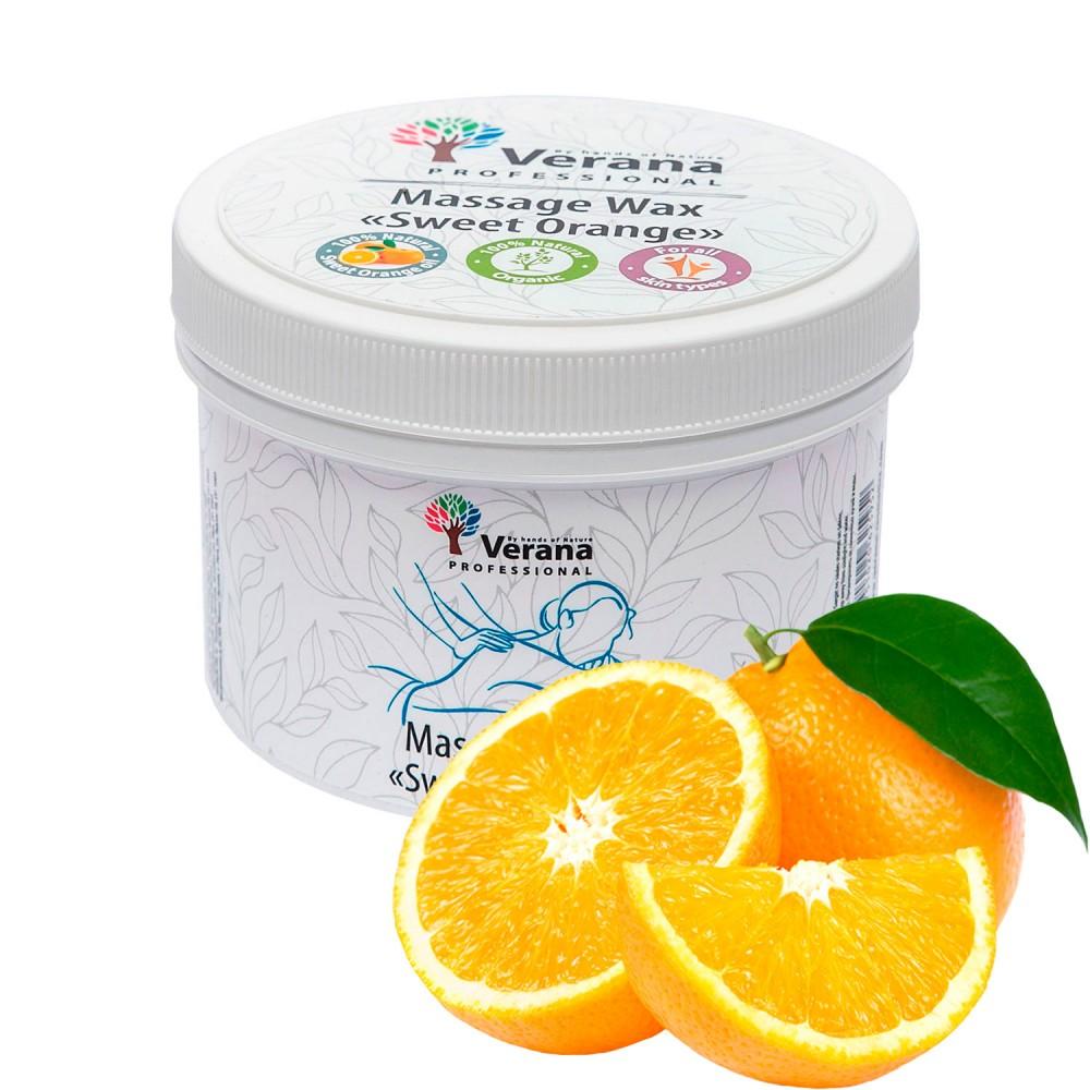 Massage wax Verana «SWEET ORANGE»