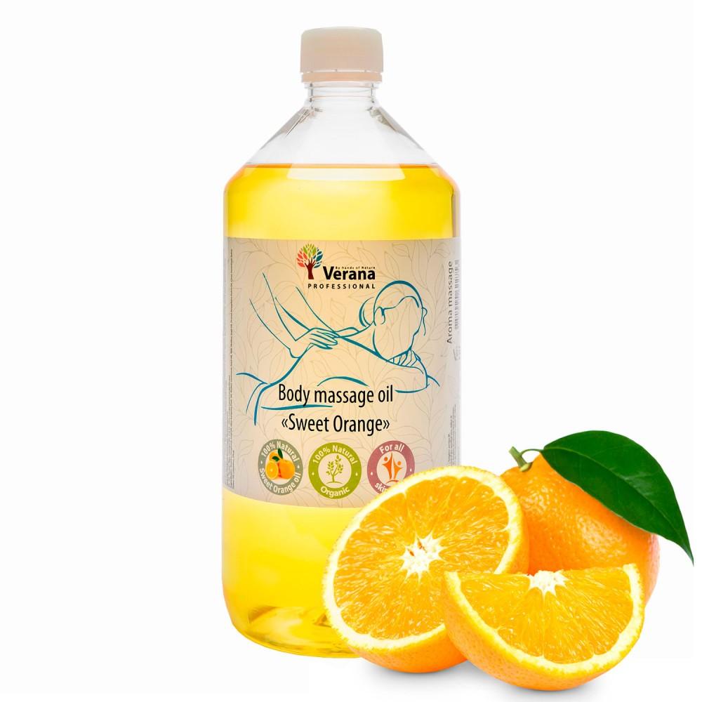 Body massage oil Verana «SWEET ORANGE»