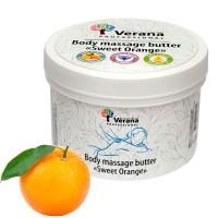 Твёрдое массажное масло для тела Verana Professional «Сладкий Апельсин», 450гр.