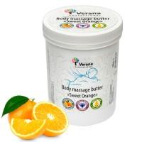 Твёрдое массажное масло для тела Verana Professional «Сладкий Апельсин», 900гр.