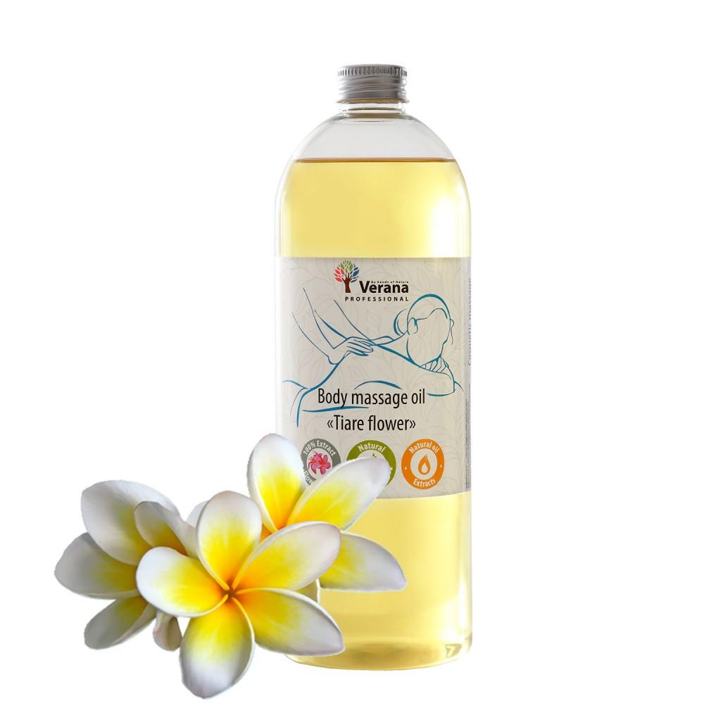 Body massage oil Verana «TIARE FLOWER»