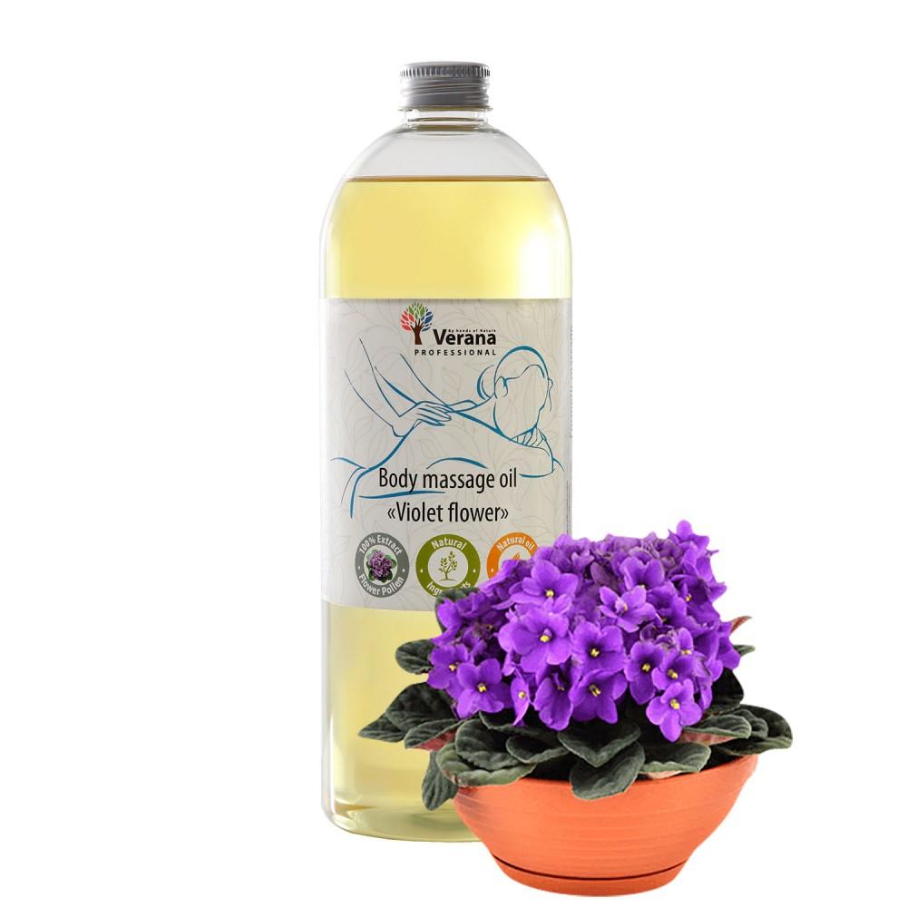 Body massage oil Verana «VIOLET FLOWER»