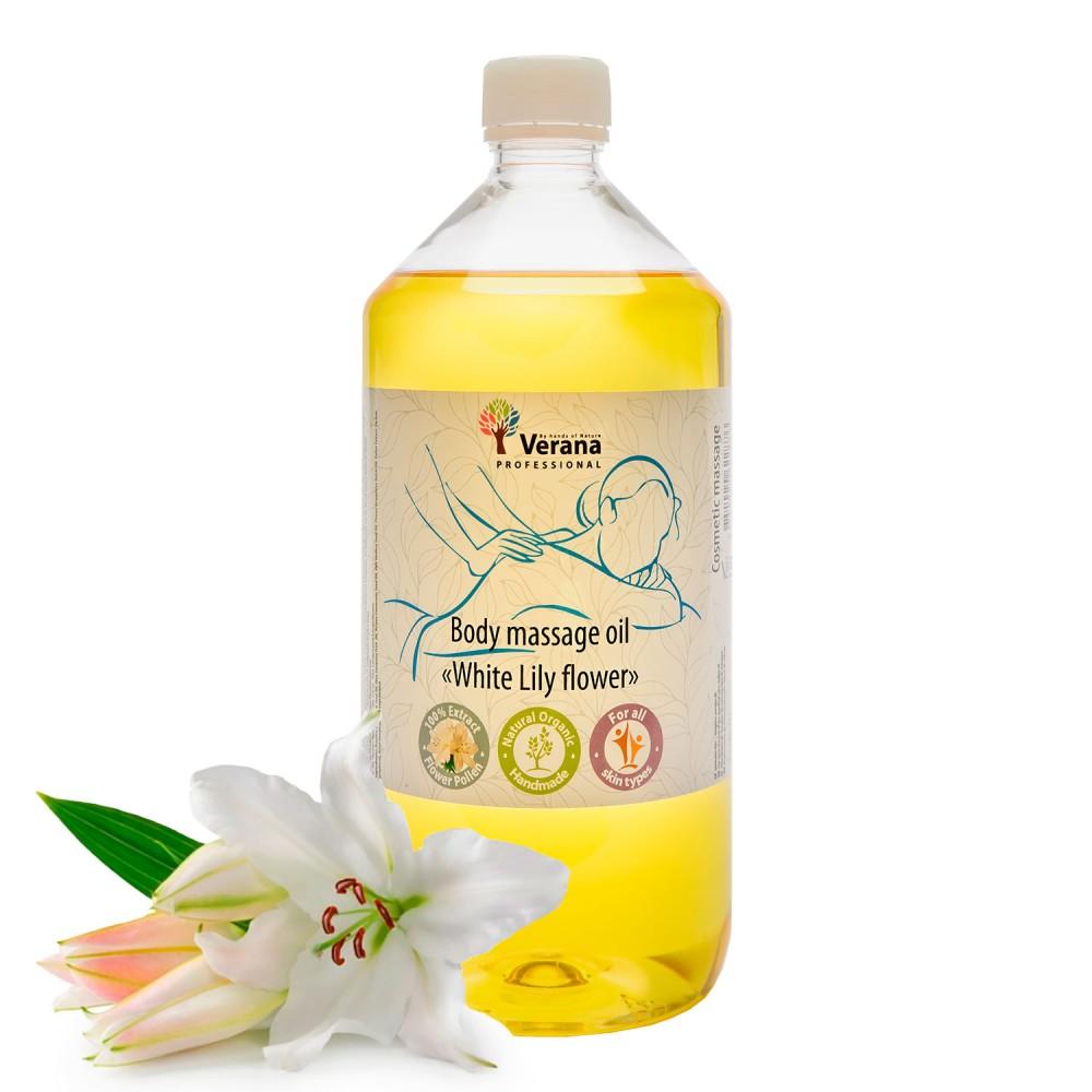 Body massage oil Verana «WHITE LILY FLOWER»